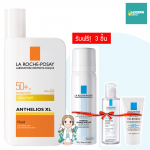 La Roche Posay ANTHELIOS ULTRA-LIGHT FLUID 50 ml. รับฟรี !! 3 ชิ้น Micellar water Sensitive skin, น้ำแร่ La Roche Posay และ Toleriane Foaming