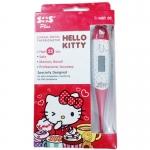 SOS Plus Clinical Digital Thermometer Hello Kitty เอสโอเอส พลัส เทอร์โมมิเตอร์ รุ่นHKT01 สีแดง X 1อัน
