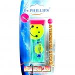 ไม้จิ้มฟันพลาสติก (สีชมพู) Dr. Phillips ดร.ฟิลลิปป์
