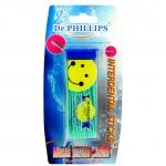 ไม้จิ้มฟันพลาสติก (สีน้ำเงิน) Dr. Phillips ดร.ฟิลลิปป์