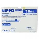 Nipro ไซริงค์ สำหรับป้อนยาเด็ก/กระบอกฉีดยา ขนาด 10ml. (ไม่มีเข็ม) บรรจุกล่องละ 100 ชิ้น