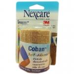 Nexcare first aid 3m Coban สีเนื้อ โคแบน เทปพันยืดหยุ่นได้ น้ำหนักเบา ระบายอากาศได้ดี ขนาด 3 นิ้ว x 5หลา บรรจุ 1 ม้วน