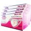 หน้ากากอนามัย 3ชั้น ผ้าปิดจมูก แบบกระดาษ ชนิดยางยืด บรรจุ 50 ชิ้นต่อกล่อง (4กล่อง) NELSON LABORATORIES thumbnail 1