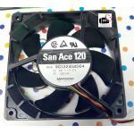 พัดลม Fan San Ace120 DC 24V - 0.47A - ขนาด 120mm x 120mm x 25mm - Black