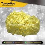 กระดาษฝอย - สีเหลือง ขนาด 4 mm. : สำหรับรองสินค้า กันกระแทก ขนาด 80 กรัม