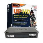 IPM กล่องรับสัญญาณดาวเทียม รุ่น IPM UP HD Plus รองรับ Thaicom C/KU band (Black)