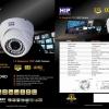 HIP กล้องโดม ภาพคมชัดสูง (HD) 1ล้านพิกเซล ใช้ภายในอาคาร