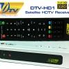กล่องรับสัญญาณจานดาวเทียม DTV HD-1 รายการทรู 18 ช่อง รับชมได้ถึง 31/03/2560