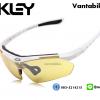 แว่นตาปั่นจักรยาน Oakley รุ่น A0089 [สีขาว]