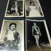 ภาพถ่ายขาวดำ นางสาวไทย เเละผู้ประกวด รวม4 ภาพ ขนาด Postcard