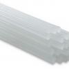 กาวแท่งขาว ขนาดเล็ก 10 แท่ง- สีขาวใส - Made in Taiwan - SMALL size - Glue Adhesive Sticks for Hot Melt Gun Art Craft Translucence 10 pieces