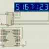 การใช้งาน 7 – Segment 8 digits ด้วย Max7219