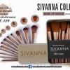 เเปรงแต่งหน้า 12 ชิ้น ขนาดพกพา SIVANNA Colors Story Brush Make Up Set