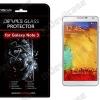 กระจกนิรภัยด้านหลัง DEVILCASE สำหรับ Samsung Galaxy Note 3
