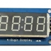 7 Segment 4 Digit Display LED Module Clock For Arduino 0.36""