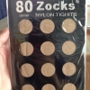 ถุงน่องหญิงเเย้ หนา 80 DEN ยี่ห้อ ZOCKS 150 บาท เบอร์ 15