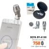 BOYA BY-A100 ไมโครโฟนติดมือถือ ขนาดเล็ก