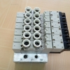 ชุดโซลินอยด์วาล์ว 5 ตัว CKD 4GA119-E2 สินค้ามือ 2 ขายถูก