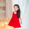 เดรสกระโปรงสีแดง ลุคคุณหนูไฮโซ สีแดงโดดเด่นใส่แล้วสวยเริ่ด มีโบว์ด้านหลังสุดเก๋ คุณภาพดีงานสวยค่ะ