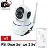 PSI ROBOT กล้องวงจรปิด ONLINE อัจฉริยะ WIFI IP CAMERA SECURITY HD รุ่น ROBOT แถมฟรี PSI Door Sensor 1 ชุด