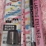 ดินสอเขียนขอบตา โอบิซ์ + อายไลน์เนอร์ (Eyeliner real lasting Obuse)
