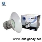 โคมไฮเบย์ LED 100w ยี่ห้อ IWACHI (แสงส้ม)