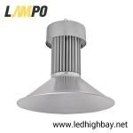 โคมไฮเบย์ LED 100w ยี่ห้อ LAMPO รุ่น ECO MODEL (แสงส้ม)