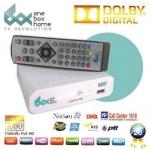 กล่องดิจิตอล วันบ๊อกโอม ดอลบี้ กล่องสีขาว Dolby Digital (white) เครื่องรับสัญญาณโทรทัศน์ภาคพื้นดิน