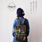 ANELLO POLYESTER CANVAS RUCKSACK รุ่นclassic
