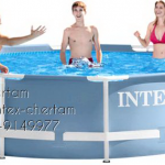 INTEX สระกลมรุ่นปริซึ่ม