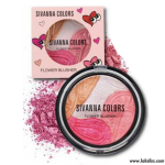 Sivanna colors flower blusher hf345 ปัดแก้มเนื้อไฮไลท์เงาฉ่ำวาว