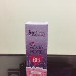 Babalah Aqua Pore BB บีบีหน้าเนียนระดับ HD (ขนาด 10 กรัม ) : BB สูตรน้ำ ช่วยกระชับรูขุมขน