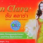 ซันคลาร่า Sun Clara กล่องส้ม 18 กรัม : ช่วยลดอาการปวดท้องประจำเดือน เพิ่มความเต่งตึงแก่ทรวงอก