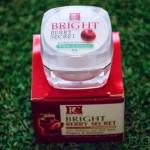 Bright Berry Secret by Pcare สำหรับแพ้ง่ายที่อยากขาวแบบเร่งด่วน พร้อมรักษาปัญหารอยสิว รอยดำ รอยแดงที่หายยาก ได้ดีที่สุด!!<รับประกัน >> รอยสิวจางลง หน้าสว่างกระจ่างใส ใน 7-14 วัน>