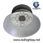 โคมไฮเบย์ LED 400w รุ่นมีพัดลมระบายความร้อน ยี่ห้อ Iwachi (แสงส้ม)