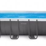 INTEX สระสี่เหลี่ยมอัลทร้าเฟรม 18 ฟุต เครื่องกรองระบบทราย (5.49 x 2.74 x 1.32 ม.)