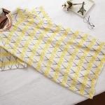 ชุดคลุมท้องผ้าชีฟองลายกรรไกรสีเหลือง ชุดนี้สวย เรียบหรูมากๆ นะคะ ใส่ทำงานสวยมากเลยค่ะ