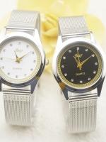 นาฬิกาแฟชั่นเกาหลีหน้าปัดดำ Tranditional Style