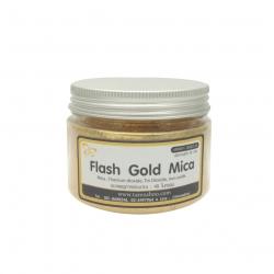 ผงไมก้าทอง : Flash Gold Mica