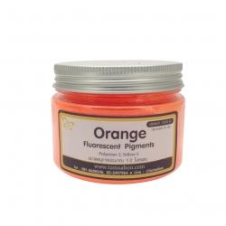 สีผงสะท้อนแสง สีส้ม : Orange Fluorescent Pigment