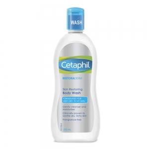 Cetaphil Restoraderm Skin Restoring Body Wash 295 ml. เซตาฟิล รีสโตเรเดิร์ม สกิน รีสโตริ่ง บอดี้ วอช
