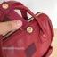 Anello กระเป๋าเป้ สะพายหลัง รุ่น Pu Rucksack Mini แท้100% สีแดงไวร์ thumbnail 4
