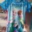 ชุดว่ายน้ำบอดี้สูทเด็กหญิงลายเจ้าหญิงหิมะ Frozen สีฟ้า+หมวก มีซิบหลังใส่สบายน่ารักมากๆ เลยค่ะ thumbnail 3