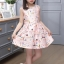 เดรสกระโปรงสีชมพู ลายน่ารักสดใส กระโปรงบานระบายกำลังดี ซิปด้านหลัง งานดีสวยมากค่ะ thumbnail 5