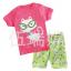 ชุดนอนแขนสั้นสีชมพูลายแมว+กางเกงสีเขียวขาสั้น ใส่สบายน่ารักมากค่ะ thumbnail 1