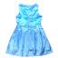 เดรสสาวน้อย Peppa Pig เจ้าหญิงหมูน่ารัก (สีฟ้า) ซิปหลังใส่แล้วน่ารักมากค่ะ thumbnail 2