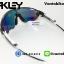 แว่นตาปั่นจักรยาน Oakley Jawbreaker [สีดำใส-ขาว] thumbnail 5