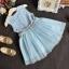 ชุดเดรสกระโปรงผ้าลูกไม้สีฟ้า ต่อด้วยกระโปรงฟูๆ ชุดนี้ใส่แล้วสวยดูสวยหวานน่ารัก ใส่ไปเที่ยวหรืออกงานก็น่ารักค่ะ thumbnail 3