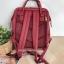 Anello กระเป๋าเป้ สะพายหลัง รุ่น Pu Rucksack Mini แท้100% สีแดงไวร์ thumbnail 3
