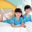 ชุดนอนเด็กโตสีฟ้า ลายโดเรมอน ชุดแขนสั้นขาสั้น ผ้าดีใส่สบายน่ารักมากๆค่ะ thumbnail 8